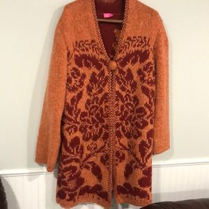 Oilily Sweater Coat  Size L